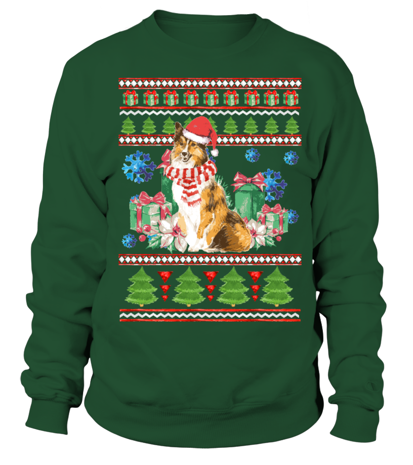 Sheltie Ugly Christmas Sweater