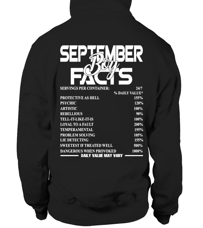 SEPTEMBER BOY FACTS
