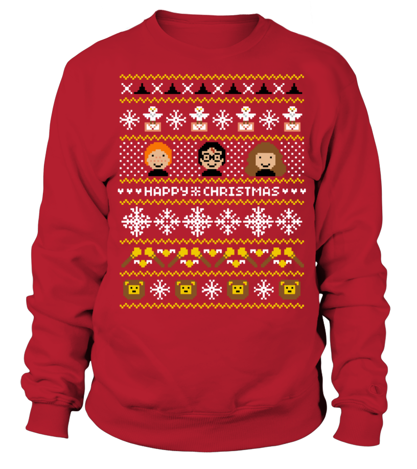 Funny Christmas - Happy Christmas Harry Potter Inspired Sweatshirt Unisex