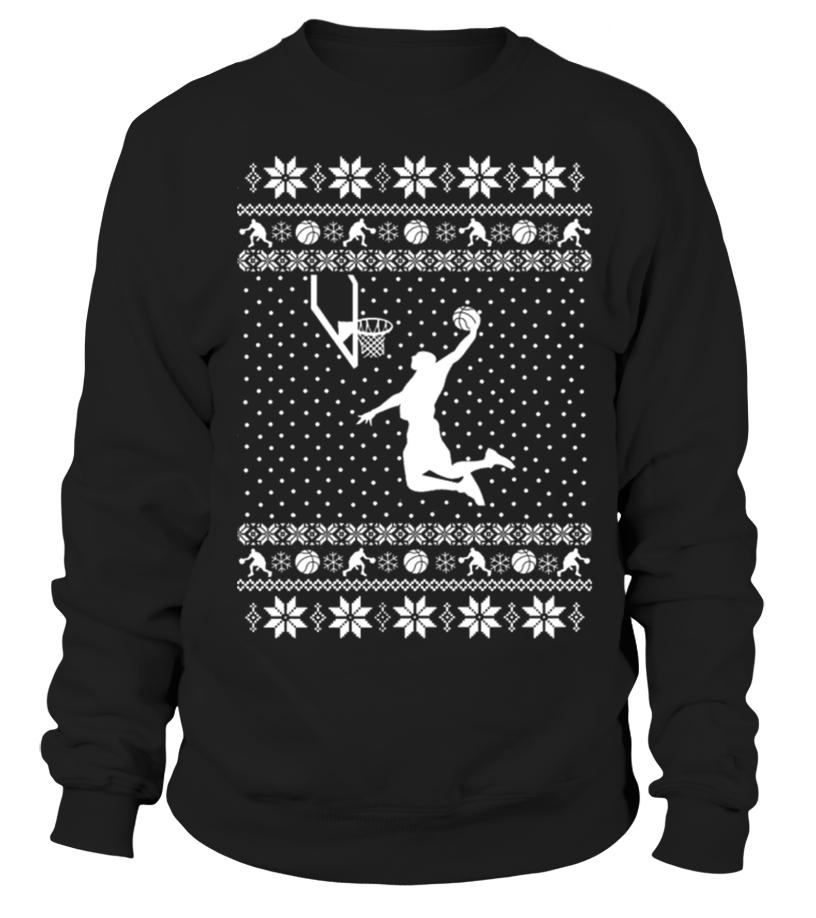 Basketball Xmas Sweater