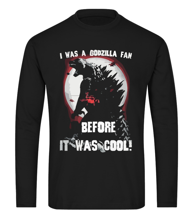 dafbe2af Awesome Godzilla Tee Shirts T-shirt, Sweater, Hoodie Long sleeved T-shirt