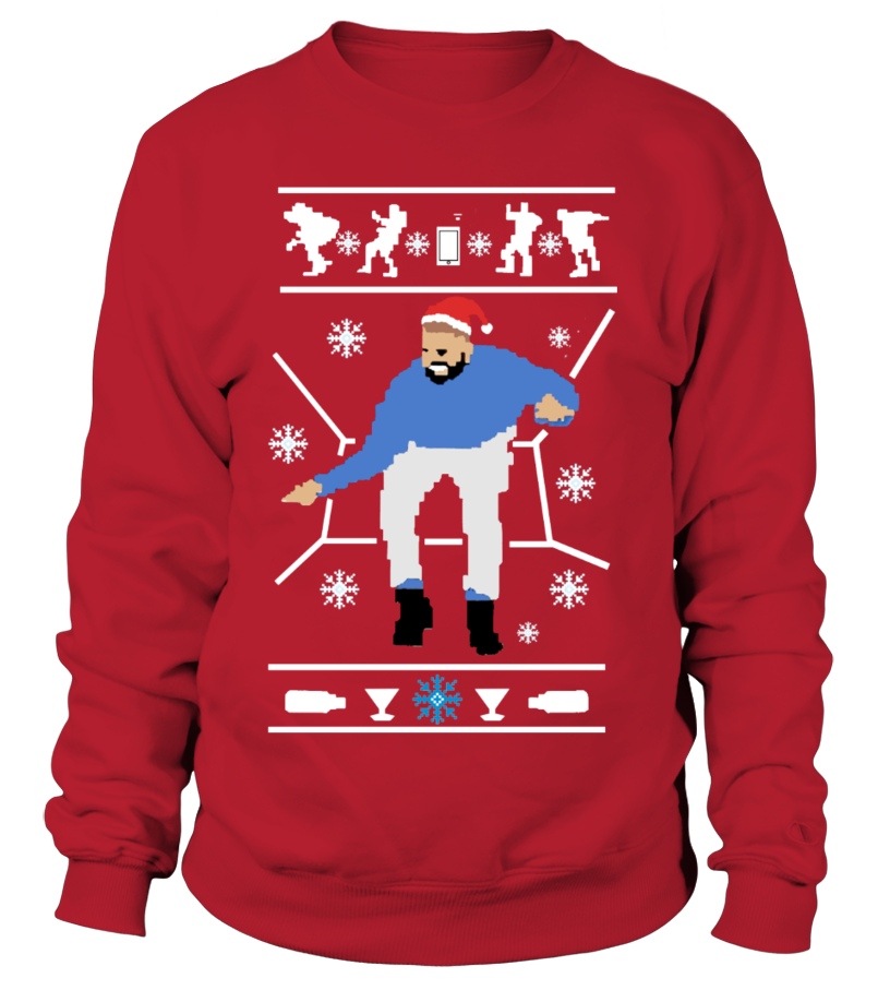 DRAKE HOTLINE BLING CHRISTMAS SWEATER