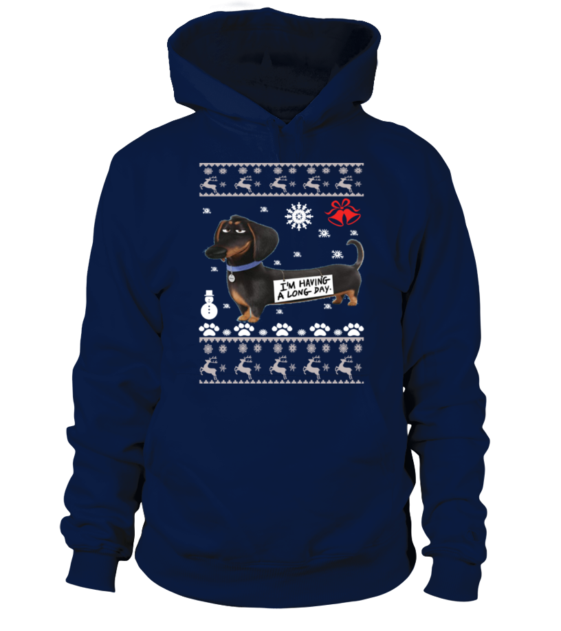 Amazing Christmas - Dachshund Ugly Christmas Sweater - Dachshund dogs Hoodie Unisex
