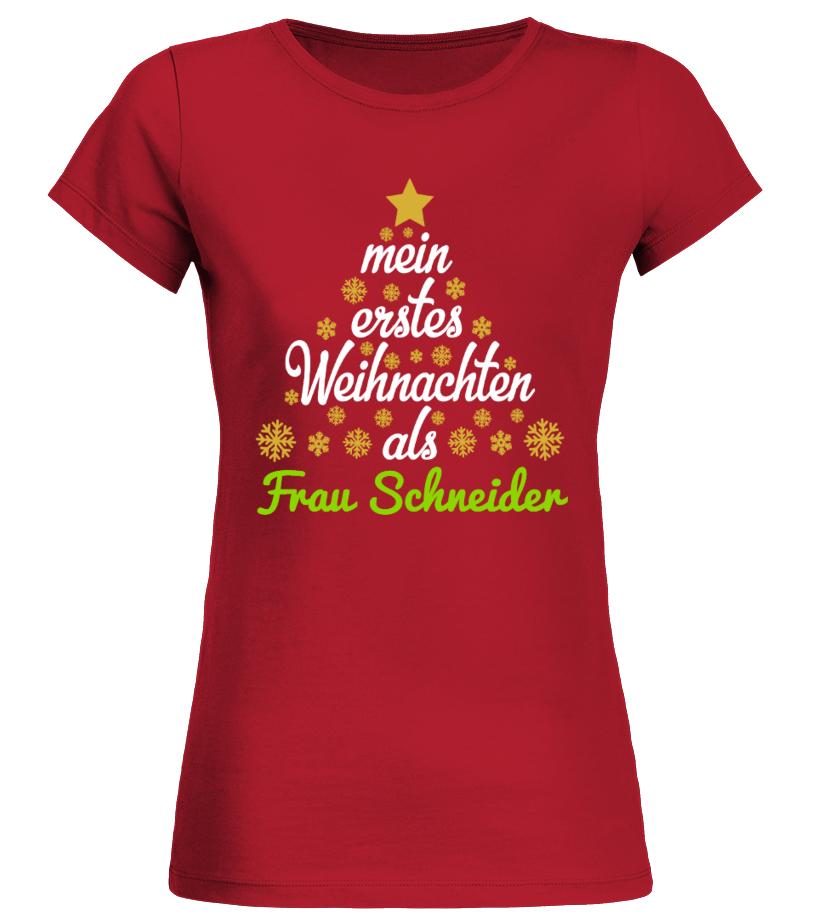 MEIN ERSTES WEIHNACHTEN ALS PERSONALISIERTES T-SHIRT - T-Shirt   Teezily