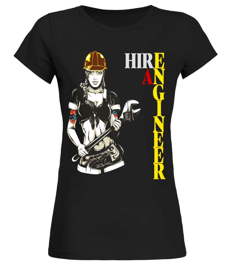 Hot Cool Funny Engineer T shirt