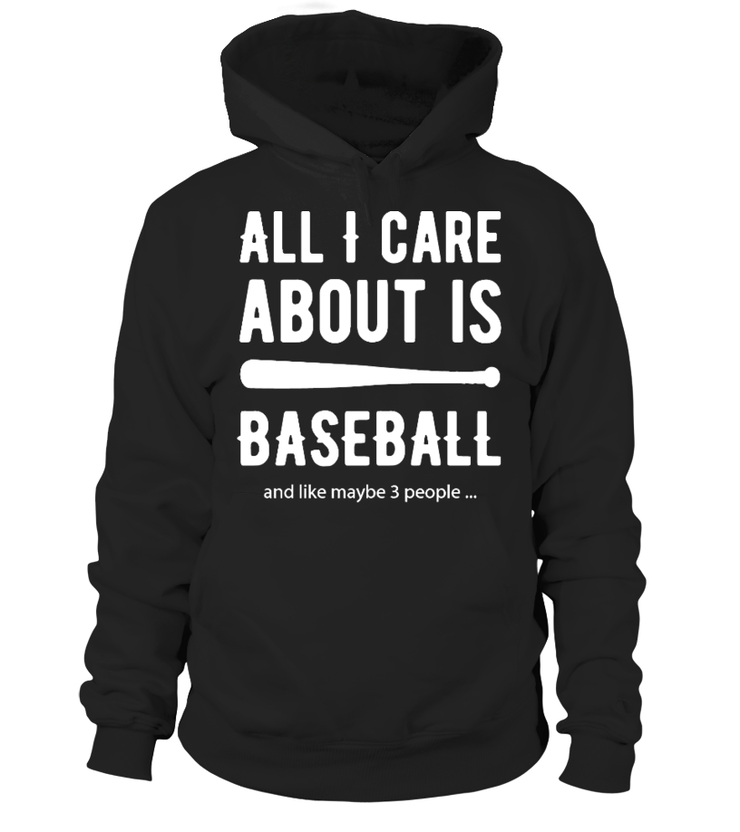 I Just Care About Baseball Unisex Tshirt