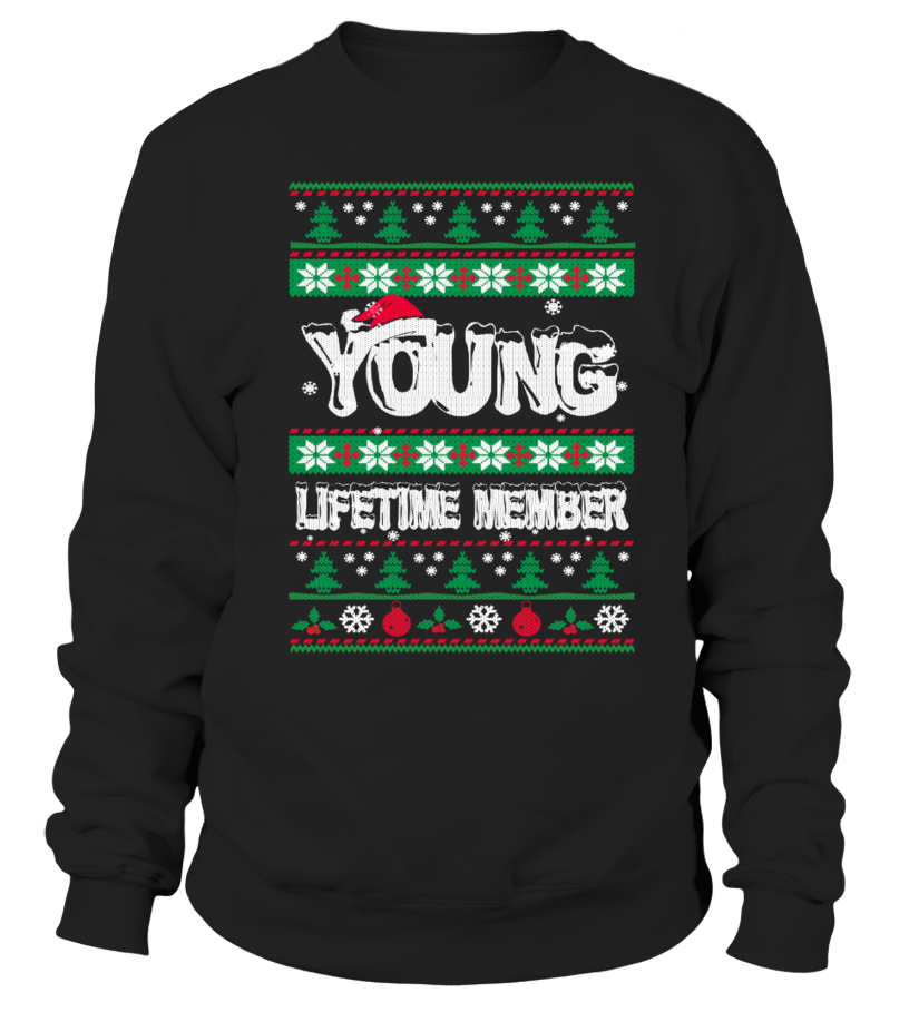 YOUNG Ugly Christmas Sweaters