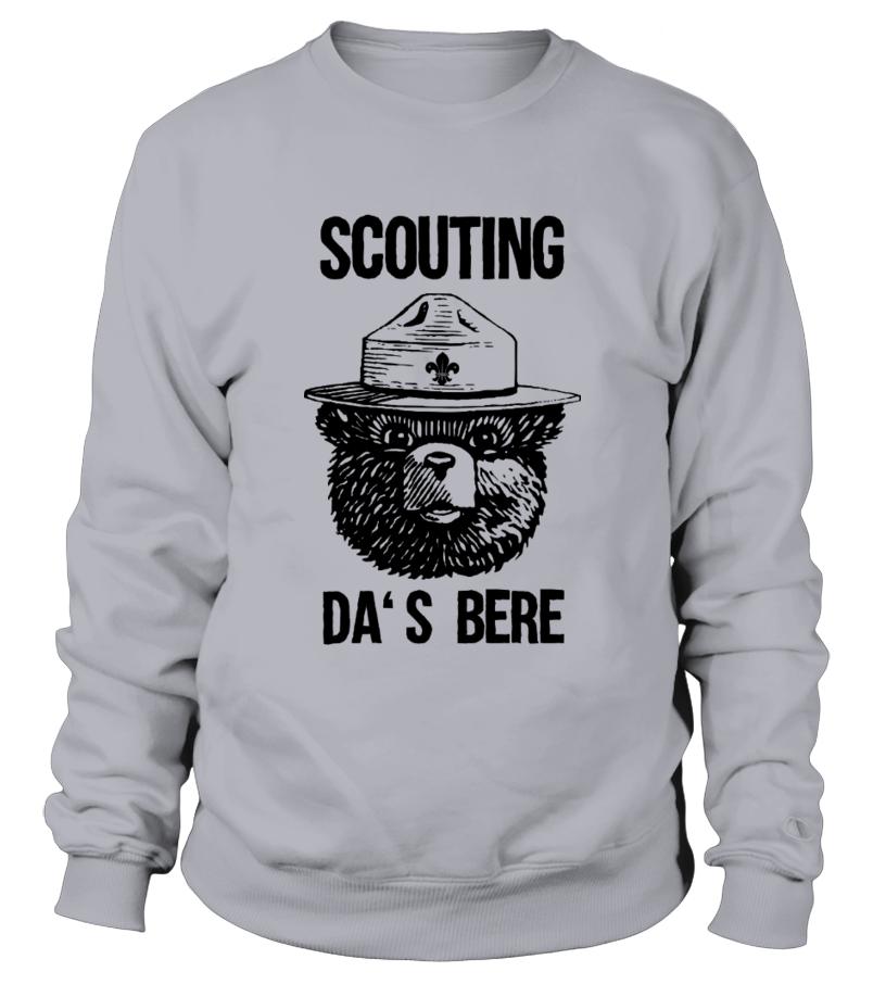 Scouting da's bere sweater/t-shirt