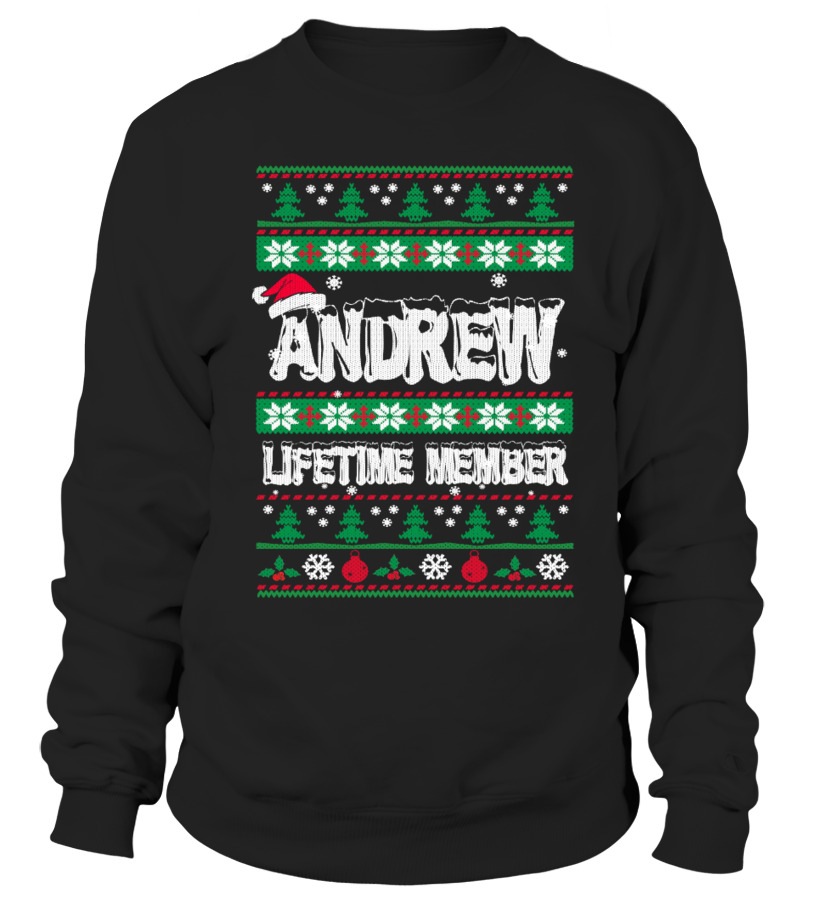 ANDREW  Ugly Christmas Sweaters