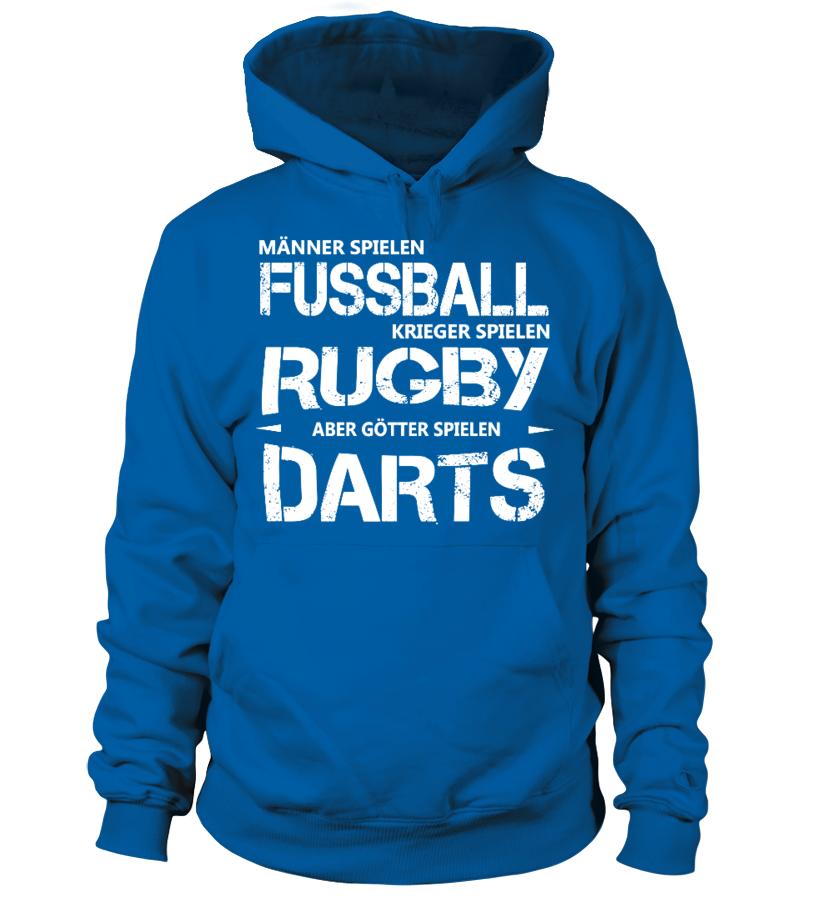 Dart Shirt - Götter spielen Darts - Geschenkidee