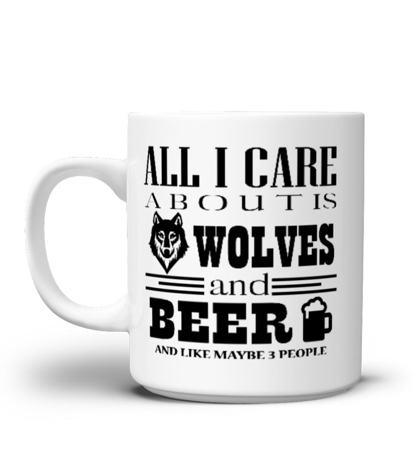 Wolves Beer Best Mug