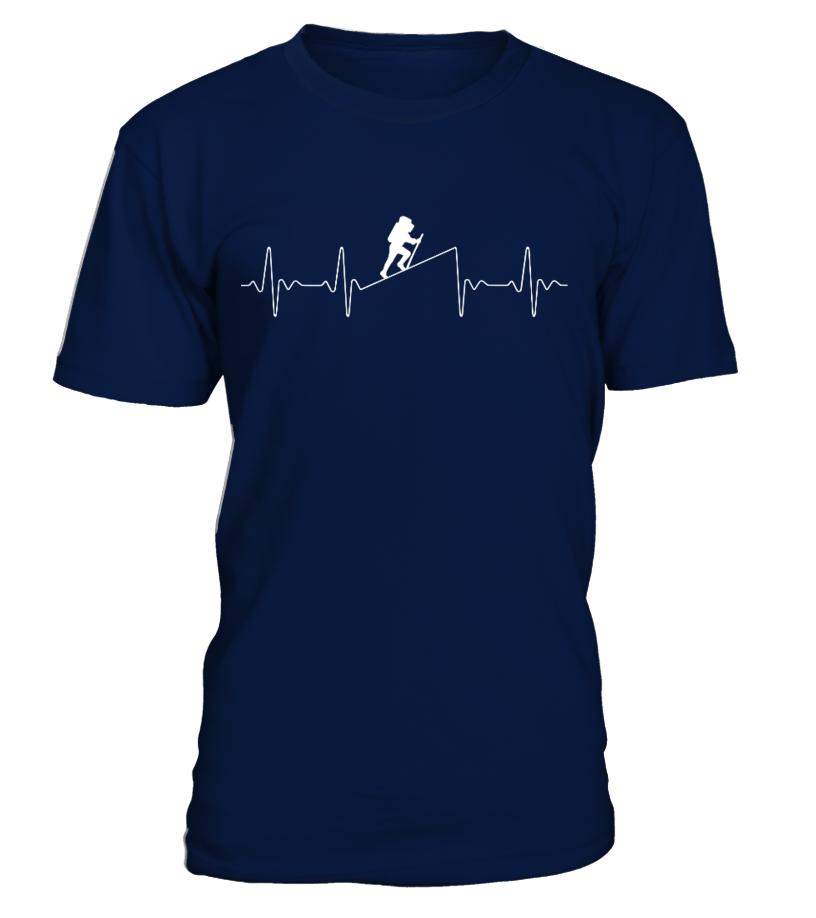 Bergsteiger Heartbeat - T-Shirt Hoodie