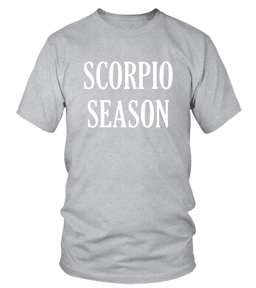 Gifts November Tshirt - Scorpio Season Birthday Shirt November Zodiac T-Shirt Tee Round neck T-Shirt Unisex