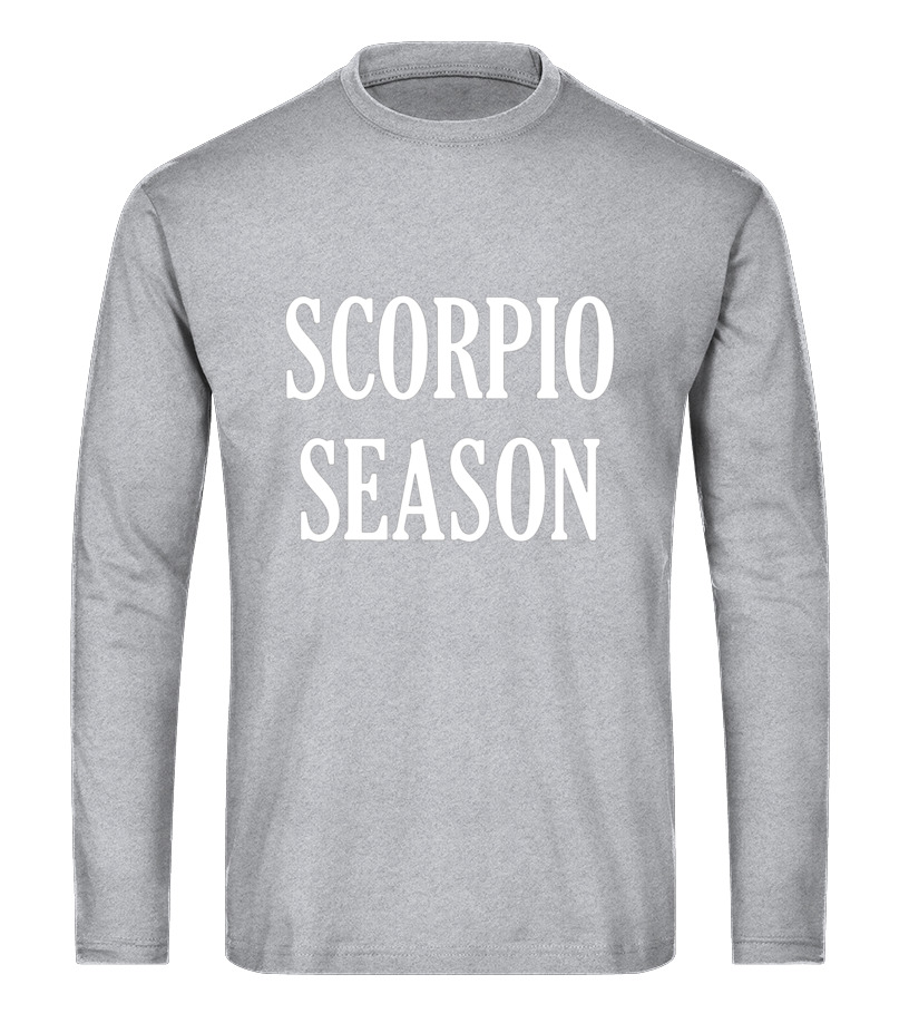 Gifts November Tshirt - Scorpio Season Birthday Shirt November Zodiac T-Shirt Tee Long sleeved T-shirt Unisex