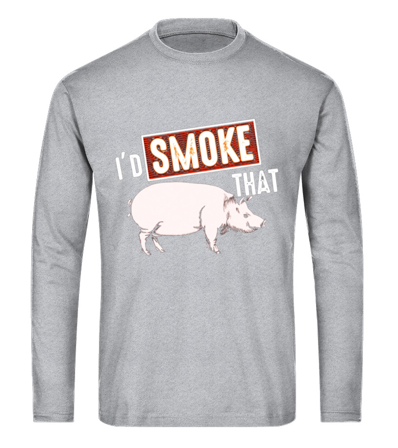 f9269f85c Awesome Grilling - Id Smoke That Pig T-Shirt - Funny BBQ Barbecue Lover Gift