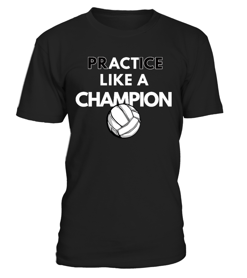 Volleyball - Act like a champion