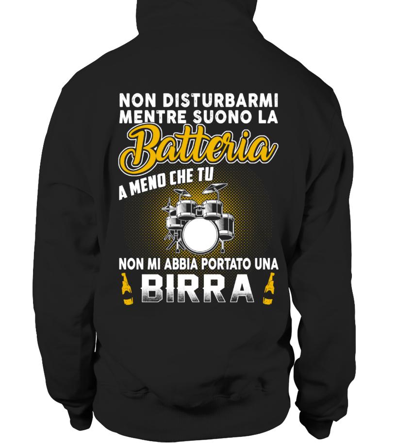NON DISTURBARMI MENTRE SUONO BATTERIA