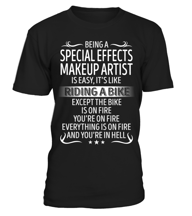 Being a Special Effects Makeup Artist is Easy
