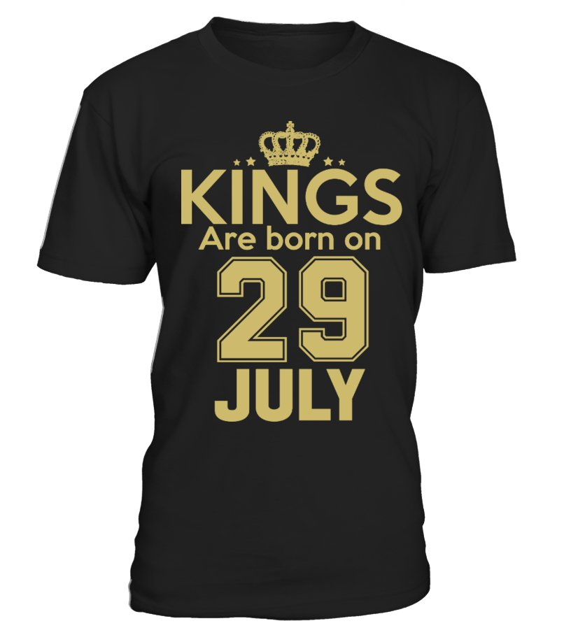 KINGS ARE BORN ON 29 JULY