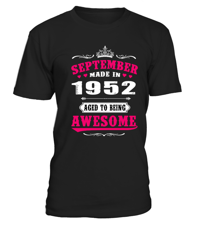 1952 - September Aged to being Awesome