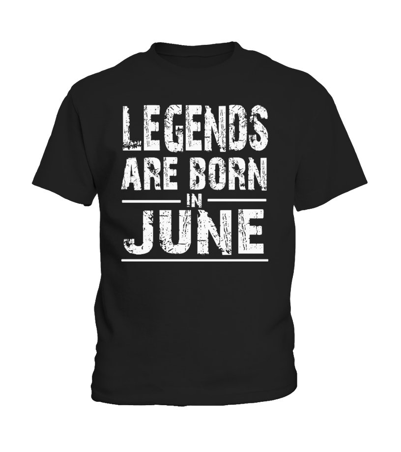 64bb2dfd Cool Legends Are Born In June Birthday Shirt T-shirt, V-neck, Long ...