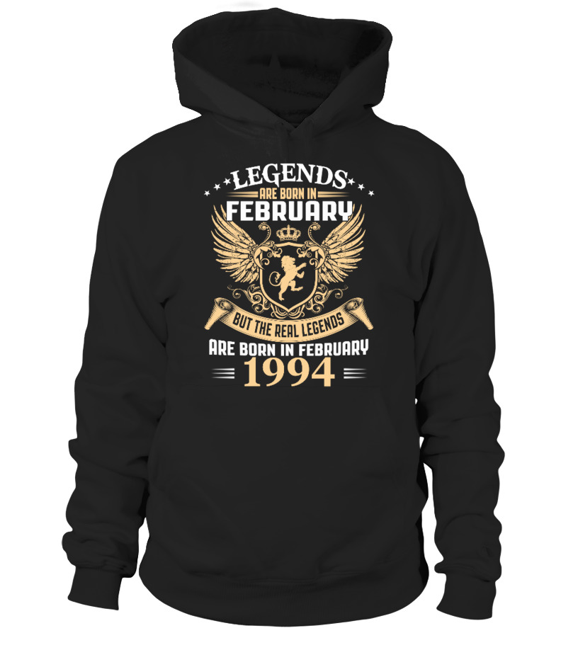 Legends Are Born In February 1994