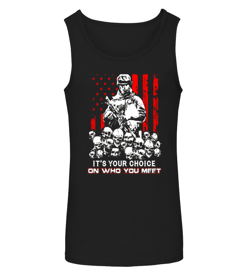 Gifts Vet - Veteran I Hold A Beast An Angel And A Madman In Me Shirt - Limited Edition Tanktop Unisex