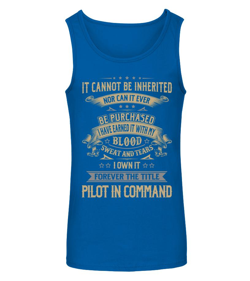 Amazing Pilot - Pilot In Command Tanktop Unisex
