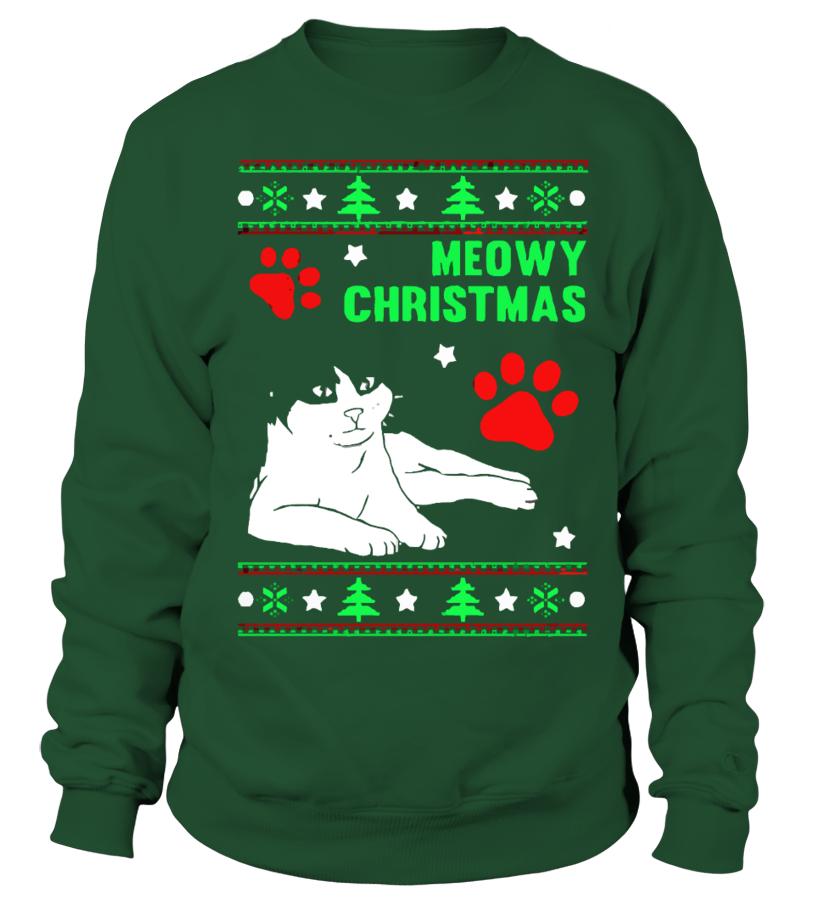 Meowy Christmas Sweater.Meowy Christmas Ugly Sweater