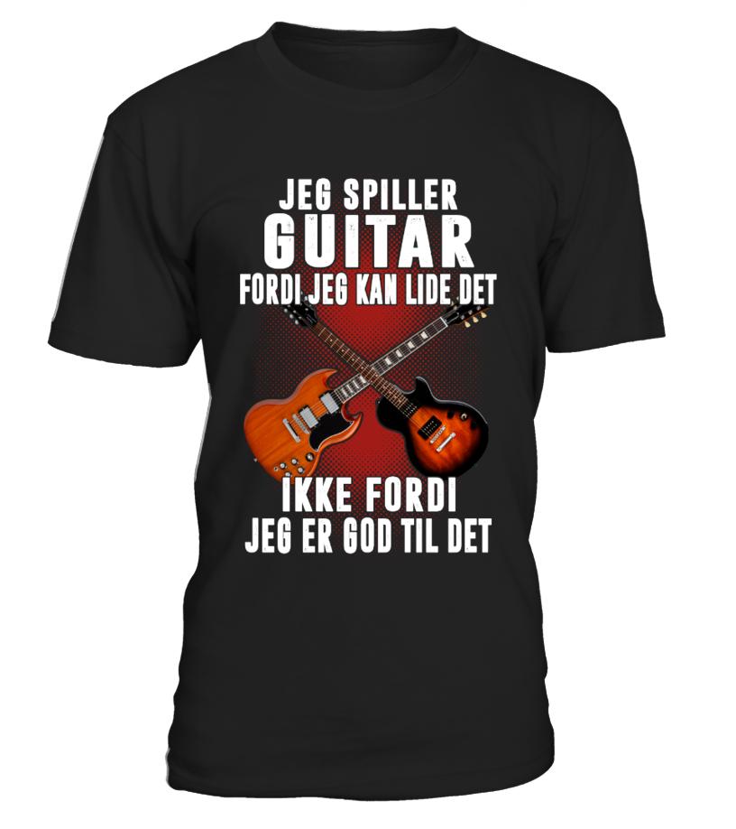 JEG SPILLER GUITAR