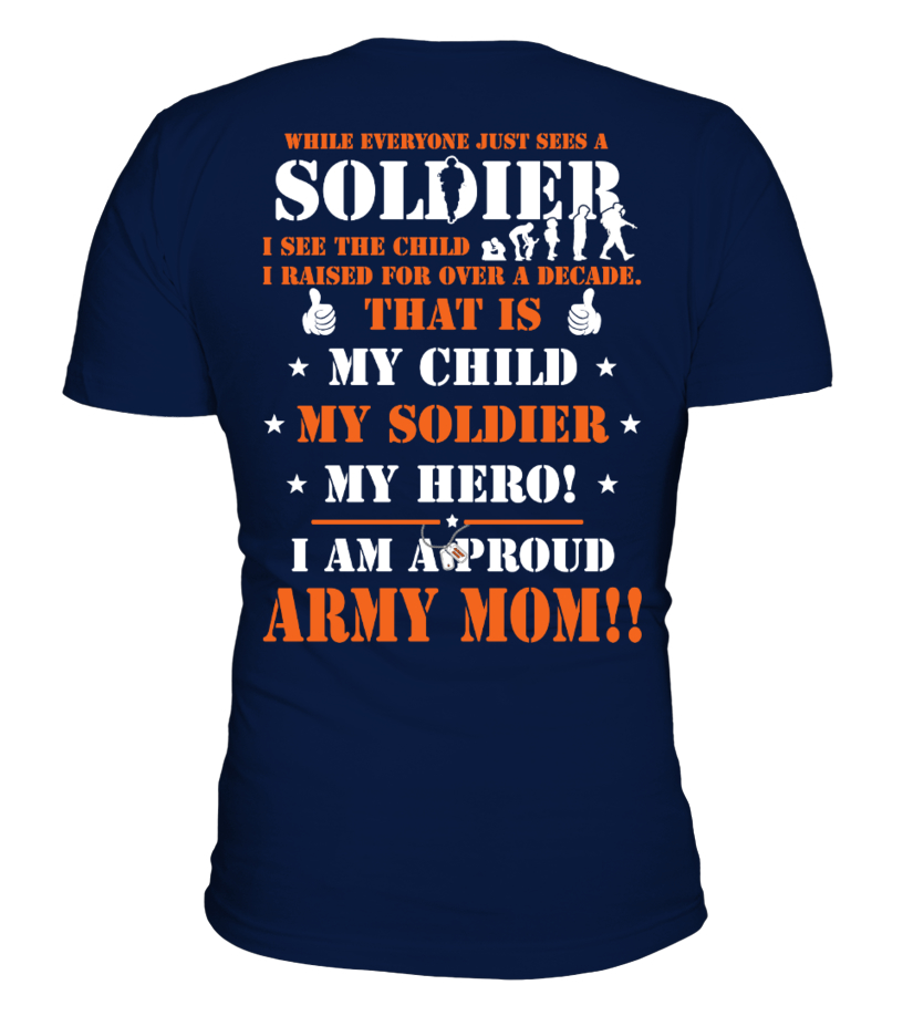 Soldier - Army mom