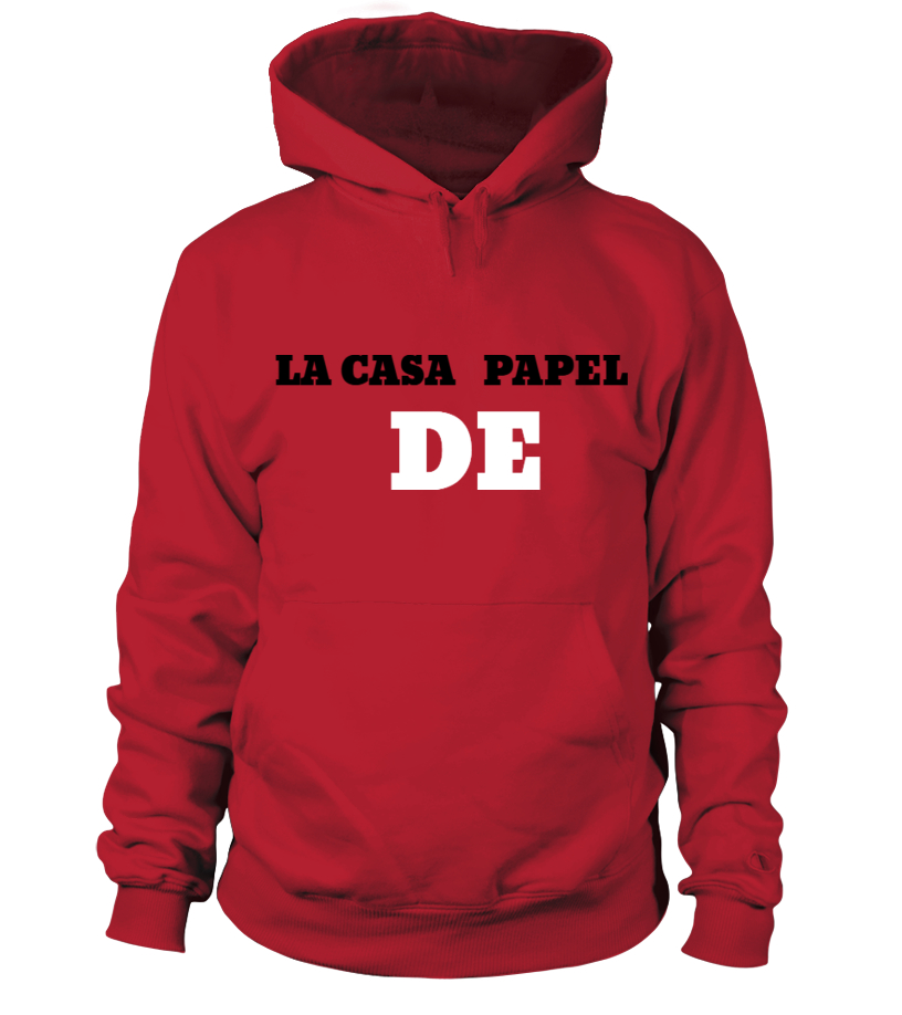 f36d80801ddd9 Sweat à capuche - LA CASA DE PAPEL - YOU ARE PROFESSEUR   Teezily