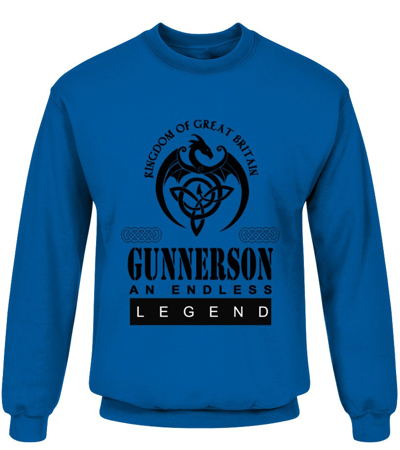 THE LEGEND OF THE ' GUNNERSON '