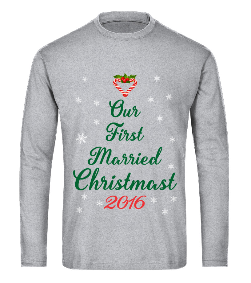 Best Christmas - First Christmas Long sleeved T-shirt Unisex