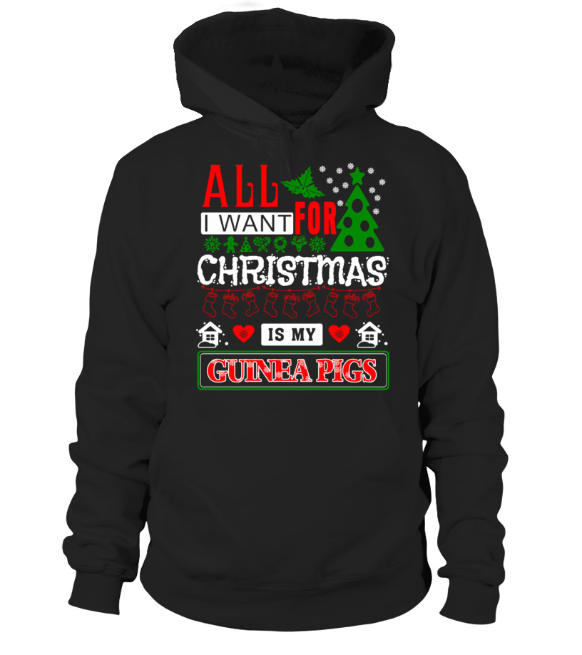 Awesome Christmas - All I Want For Christmas Hoodie Unisex