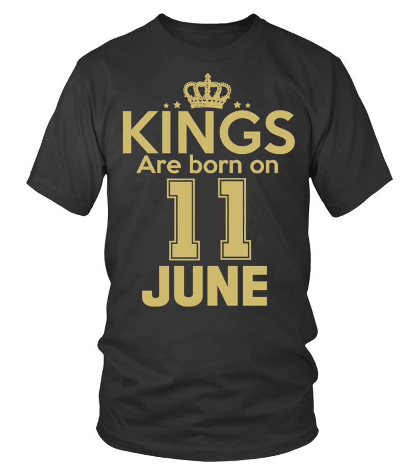 KINGS ARE BORN ON 11 JUNE