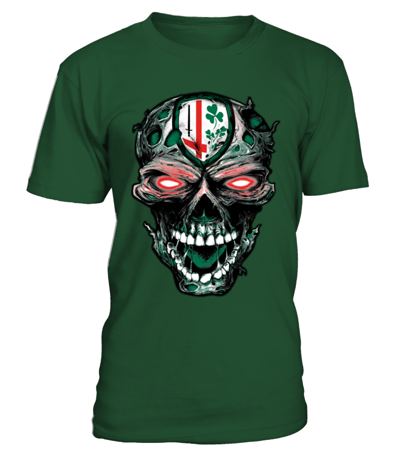 London Irish Rugby Skull
