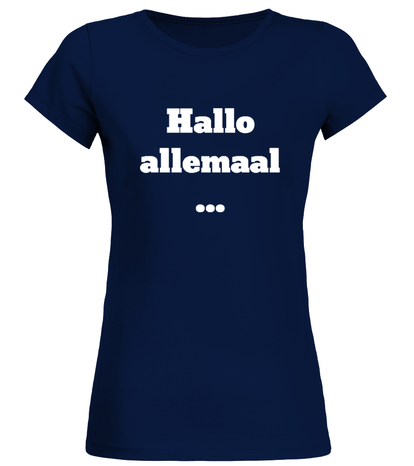 Hallo allemaal...Dames t-shirt