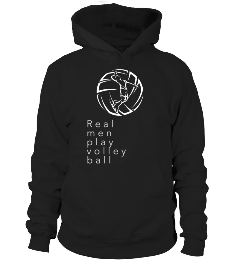 """SWEAT / T-SHIRT VOLLEY BALL"" Real man play volley ball"" - Edition Limitée"