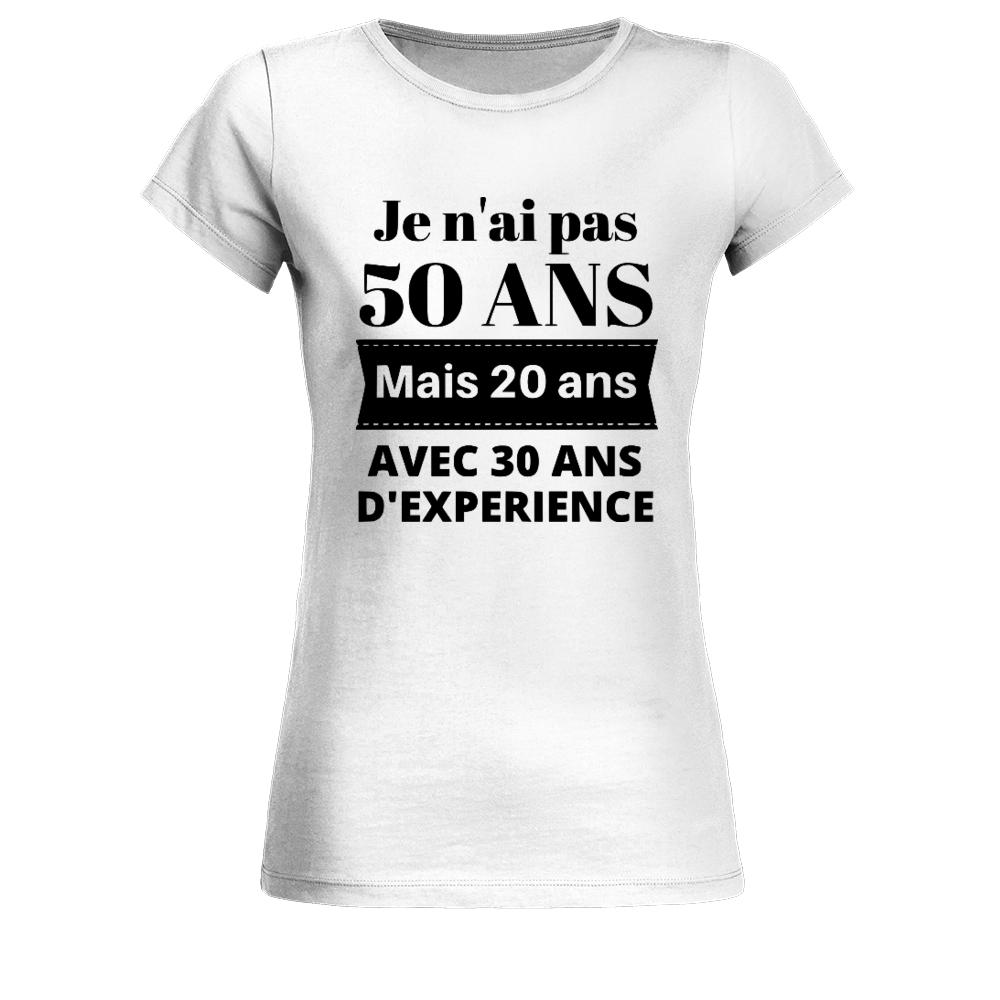 Ne pas être jaloux homme drôle 50th Anniversaire T-shirt Milestone cadeau 50 ans