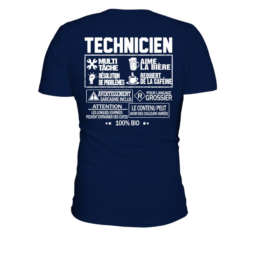 TEEZILY T-Shirt Homme ***Oui Je suis Plombier***