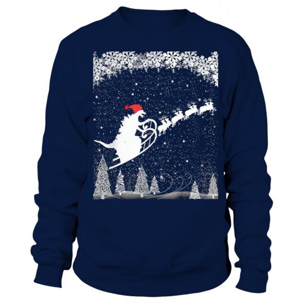 Cheap Ugly Christmas Sweaters Godzilla Sweatshirt Teezily
